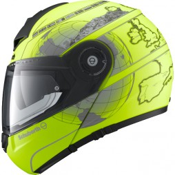 Casco Modulare Schuberth C3 Pro Matt Fluo Yellow Europe
